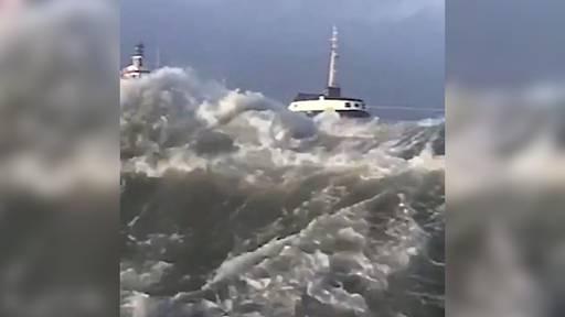 12-stündige Rettungsaktion wegen 4000-Tonnen-Frachter in Seenot