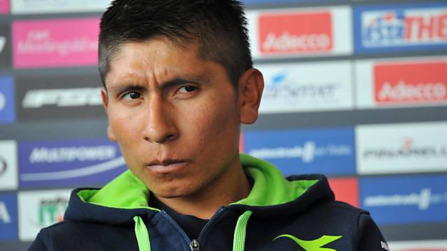 Der Kolumbianer Nairo Quintana gehört beim Giro zu den Favoriten