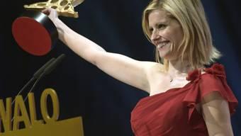 Freut sich über einen Stern: TV-Moderatorin Sabine Dahinden erhielt den Prix Walo als Publikumsliebling des Jahres.