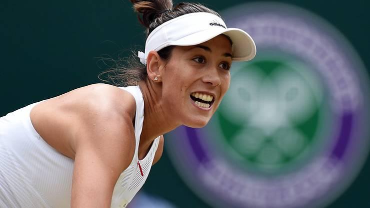 Garbiñe Muguruza steht zum zweiten Mal nach 2015 im Final von Wimbledon