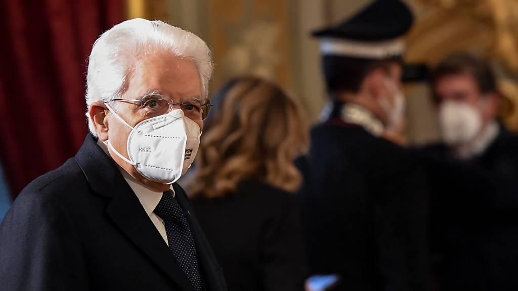 Mattarella setzt Gespräche nach Conte-Rücktritt fort