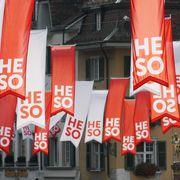 Fahnen der Herbstmesse Solothurn HESO