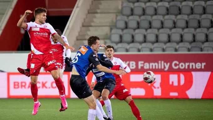 Challenge League, 7. Runde, FC Thun - FC Aarau
