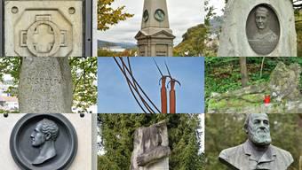 Diese neun Denkmäler erinnern in Olten an nennenswerte Personen und Ereignisse.