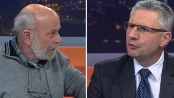 Glarner gegen Uebelhart – sehen Sie die wichtigsten Ausschnitte aus dem ersten TV-Schlagabtausch zum Asylstreit in Oberwil-Lieli