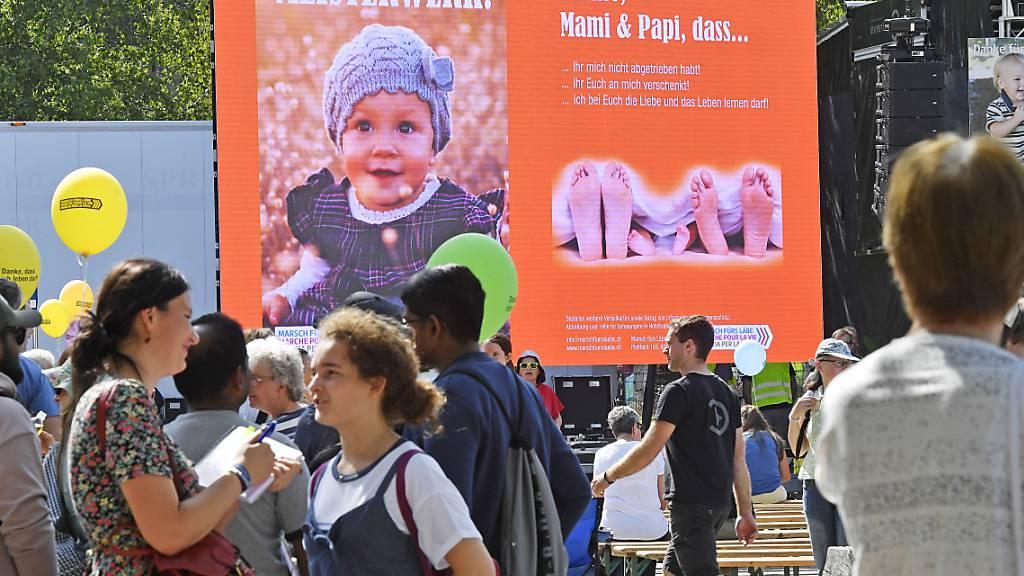 Der letzte «Marsch fürs Läbe» fand 2019 in Zürich statt. (Archivbild)
