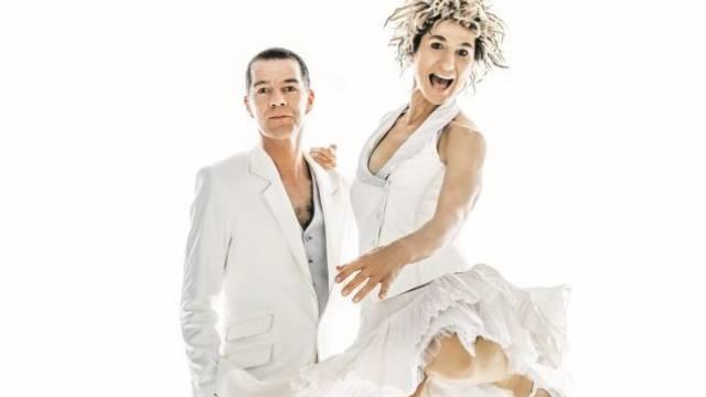 Urs Wehrli und Nadja Sieger bilden  seit 1987 Schweizer Clown- und Kabarett-Duo Ursus & Nadeschkin. Foto: az