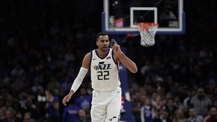 Thabo Sefolosha muss mit den Utah Jazz untendurch