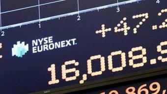 Der Dow Jones Industrial erstmals über 16'000 Punkten