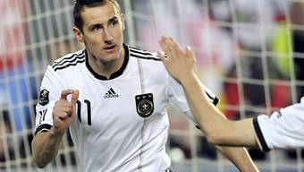 "Miroslav Klose  jagt ""Bomber"" Gerd Müller"