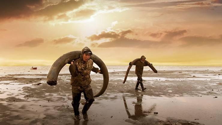 """Sibirische Mammutjäger in Christian Freis Dokfilm """"GENESIS 2.0"""". Der Film ist am Samstag am Sundance Film Festival mit dem World Cinema Documentary Special Jury Award for Cinematography ausgezeichnet worden. (Pressebild)"""
