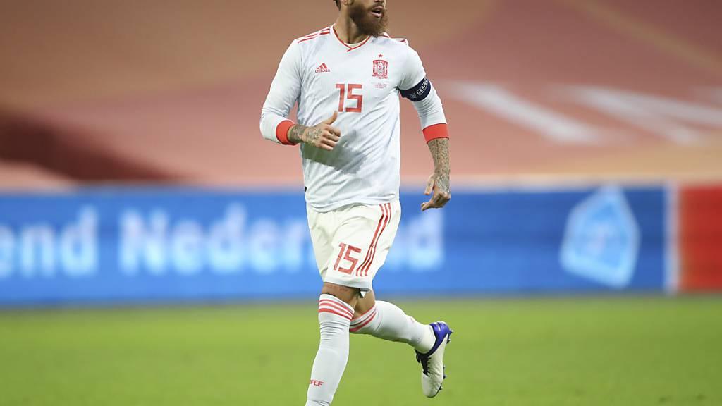 Sergio Ramos bestreitet gegen die Schweiz sein 177. Länderspiel - Europarekord!