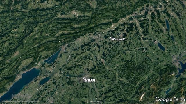 Bahnunterbruch zwischen Bern und Olten