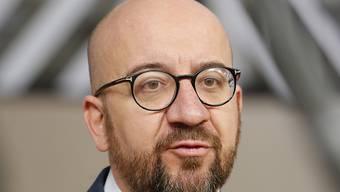 Der belgische Premierminister Charles Michel hat seinen Rücktritt angekündigt. (Archivbild)