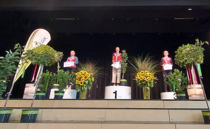 Sieg für Eline Gemperle, OLK Argus, 2. Rang für Siri Suter, OLG Cordoba