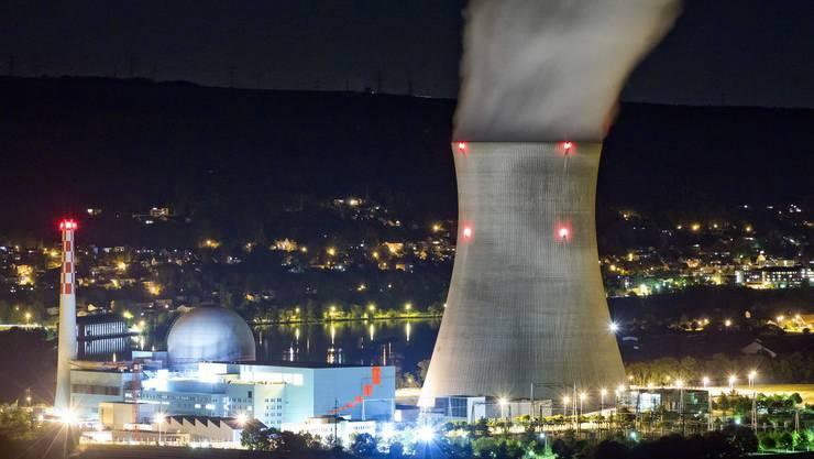 Das Atomkraftwerk Leibstadt (Archiv)