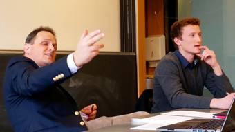 SVP-Nationalrat Claudio Zanetti wird aus der Fassung gebracht