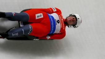 Immer schneller im Eiskanal unterwegs: die Schweizerin Natalie Maag