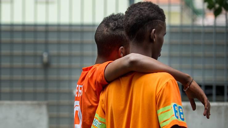 Die Website ankommen-zh.ch richtet sich an Kinder und Jugendliche im Kanton Zürich mit Fluchthintergrund. (Symbolbild)
