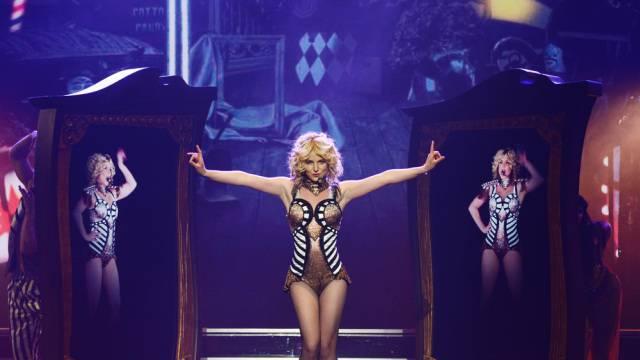 Britney Spears bei ihrer Premiere in Las Vegas