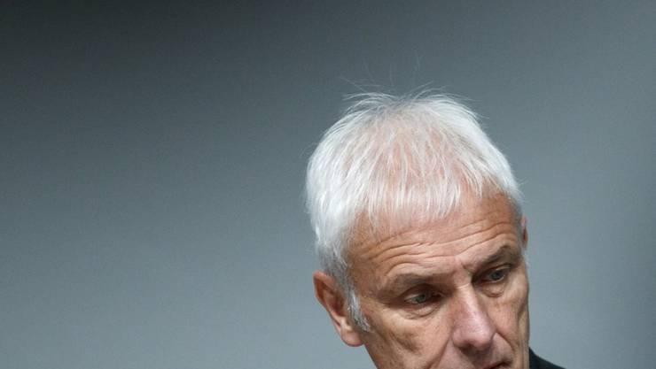 Unter Druck: VW-Konzernchef Matthias Müller. (Archiv)