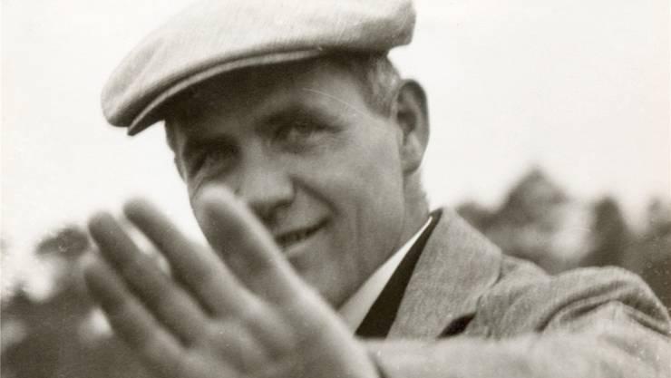 Hannes Meyer als Direktor des Bauhauses um 1928/29. Bauhaus-Archiv