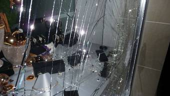 Das Schaufenster der Zofinger Bijouterie am Mittwochmorgen