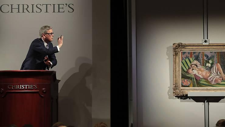 Verkauf eines Bildes von Henri Matisse an der Auktion der Rockefeller-Kunstsammlung