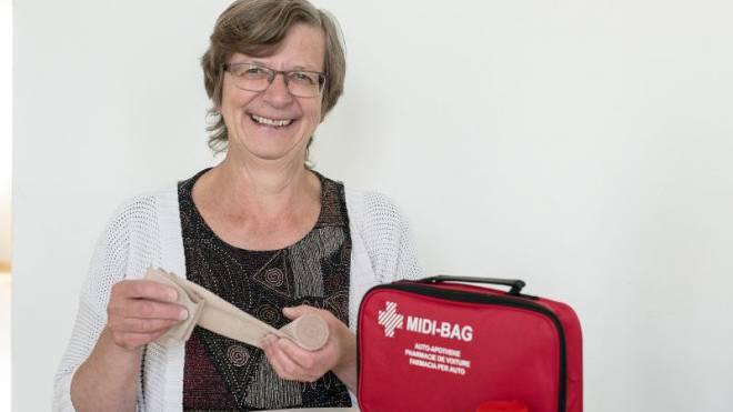 Politische Notärztin: SP-Präsidentin Regula Meschberger fordert eine Teilfusion der Spitäler. Foto: Kenneth Nars