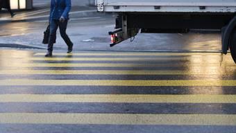 Fussgängerunfälle haben sich in den letzten drei Monaten in der Region Aargau/Solothurn erheblich gehäuft.