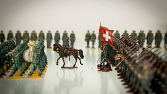 Zinnfigurensammlung des Basler Verlegers Erich Reber im Militärmuseum in Full