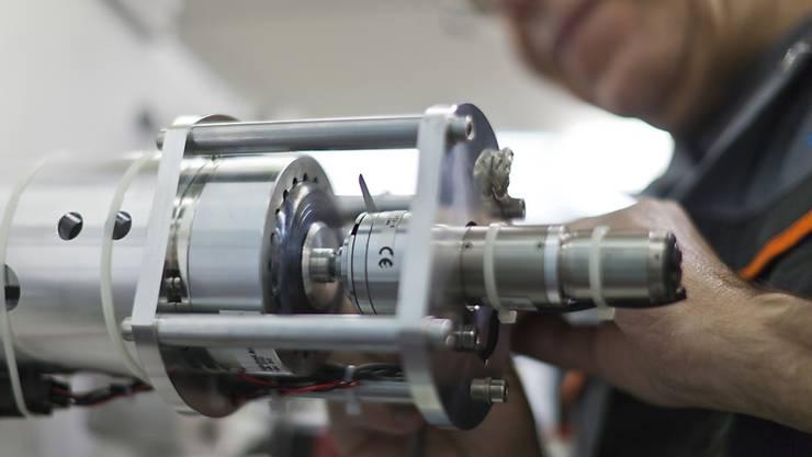 """Der Branchenverband Swissmem sieht eine """"Abflachung"""" auf die Maschinen-, Elektro- und Metallindustrie zukommen. (Archivbild)"""