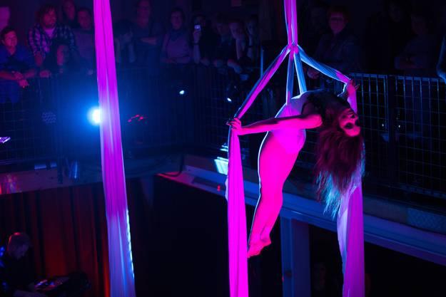 Zahlreiches Publikum kam zur Show der jungen Artistinnen