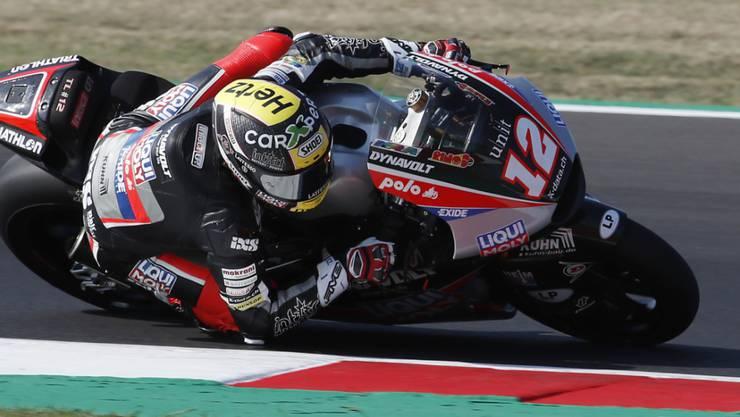 (Zu) viel Zeit verloren: Tom Lüthi auf dem Circuit in Misano
