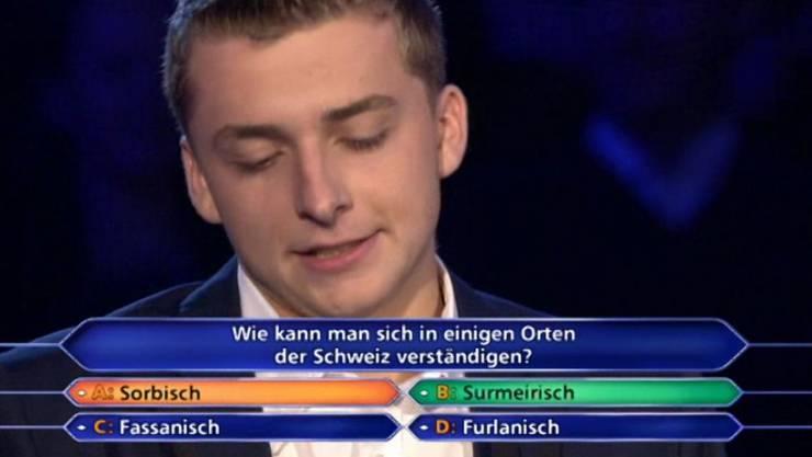 Scheiterte an der 8000-Franken-Frage: Kevin Kohler aus Niederlenz
