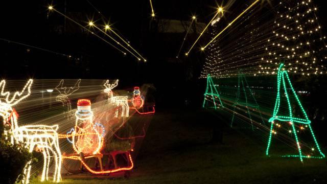 Weihnachtsbeleuchtung in der Schweiz (Archiv)