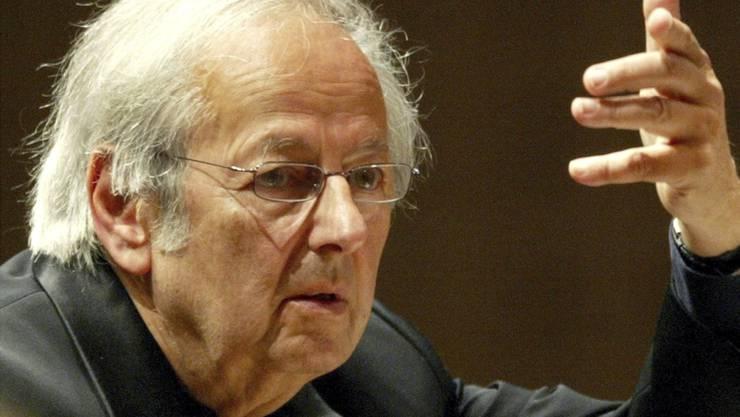 André Previn liess die Grenzen zwischen Jazz, Pop und klassischer Musik verschmelzen. (Archivbild)