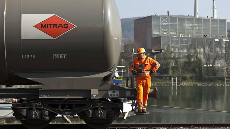 Der Handel zwischen der Schweiz und ihrem wichtigsten Handelspartner Deutschland hat sich im laufenden Jahr verlangsamt. (Archivbild)