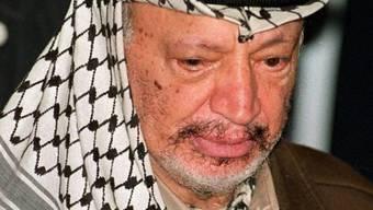 Palästinenserführer Jassir Arafat (Archiv)