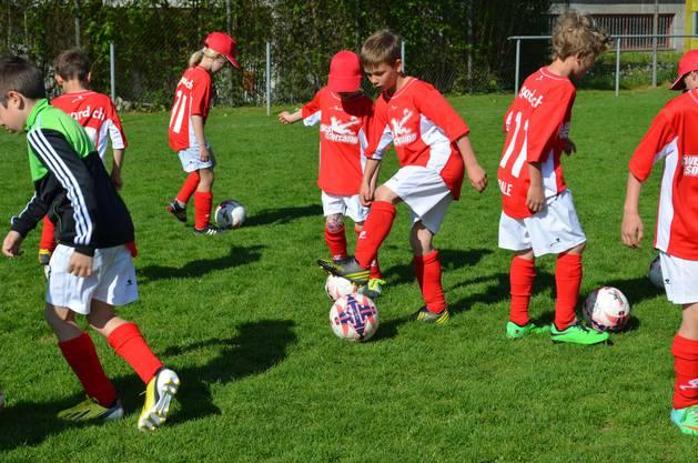 Ballführung Soccer Camp.