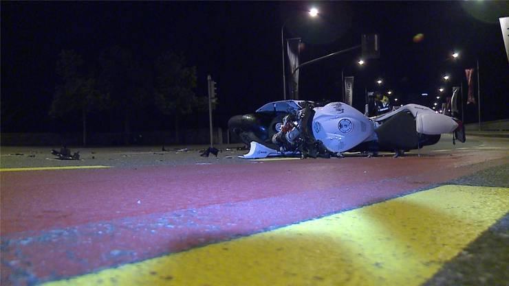 Beim tragischen Unfall an Pfingsten 2015 kam ein Töfffahrer ums Leben. Till Burgherr