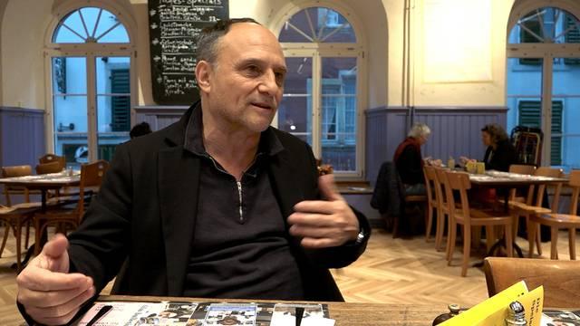 «Rencontre»-Gast Christoph Schaub: «Als ich als junger Regisseur nach Solothurn kam, fühlte ich mich fast verloren. Unterdessen kenne ich so viele Menschen hier, dass es mir fast zu viel wird.»