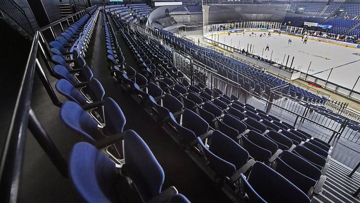 Eishockey wird diese Saison in der Schweiz nicht mehr gespielt, die Liga hat die Meisterschaft abgebrochen