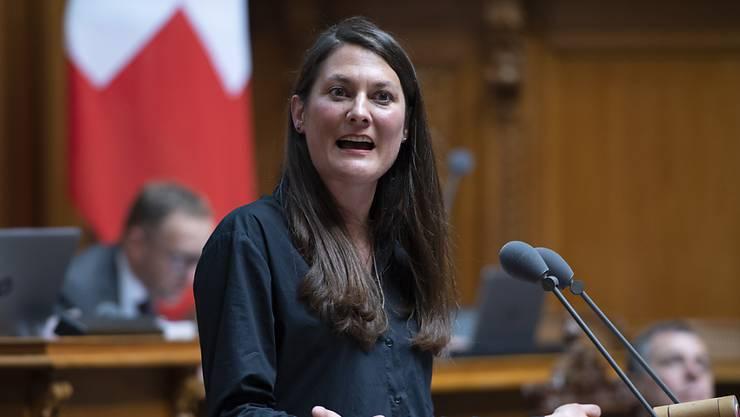 """Die Grünliberale Tiana Angelina Moser findet laut einem Interview mit der """"Neuen Zürcher Zeitung"""" vom Samstag, dass sie in den Ständerat gehört."""
