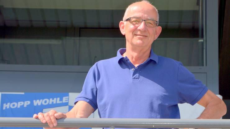 Lucien Tschachtli erleichtert die Medienarbeit in Wohlen.