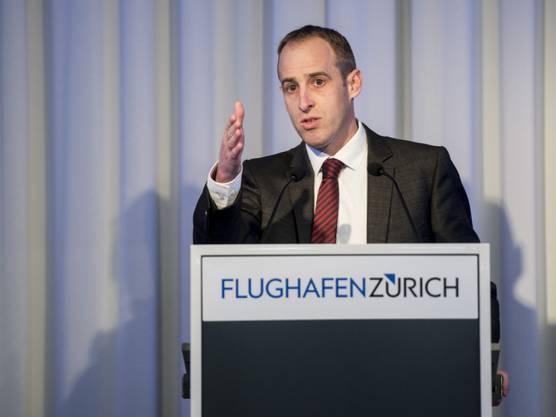 Flughafen-Zürich-CEO Stephan Widrig.