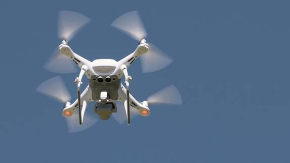 Drohnen garantieren spektakuläre Luftaufnahmen.