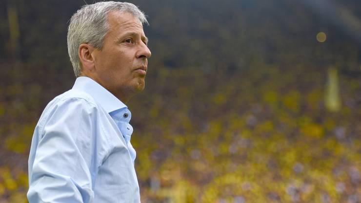Lucien Favre soll in Zukunft Borussia Dortmund trainieren.