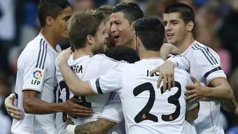 Cristiano Ronaldo und Co. feiern Heimsieg gegen Osasuna
