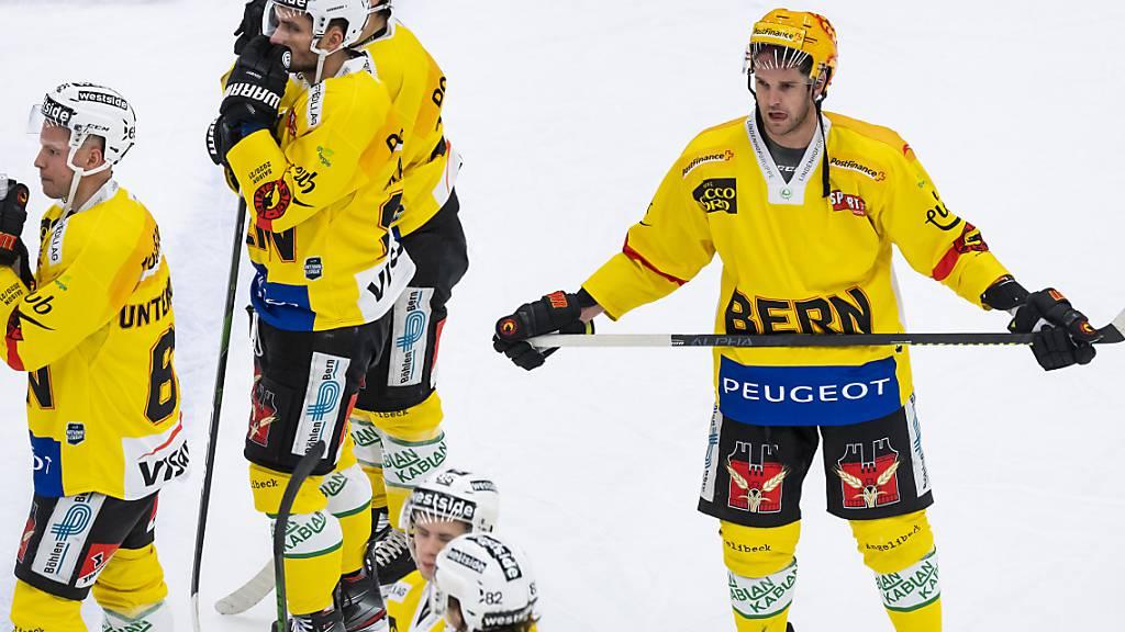 Frustrierte Berner auch nach dem Gastspiel in Lausanne